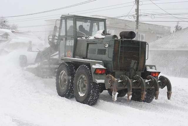 Romania to buy snow removal equipment worth EUR 33 mln Romania Insider