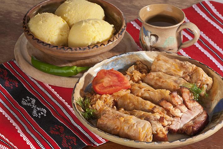 Culture food romanian Romanian Christmas
